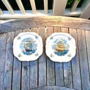 LAST CHANCE! Vintage Sailing Ships Plates